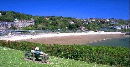 Langland Bay, Gower, Swansea, Wales