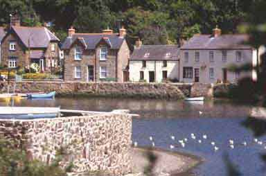 Fishguard old town
