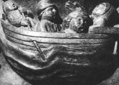 Poor seasick pilgrims