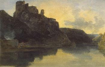 Cilgerran Castle by JMW Turner